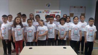 """eTwinning projesi """"Music Makes People Closer"""" Çaycuma Çomranlı İlkokulu izle"""