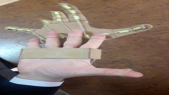 Robotik El Modeli Çalışması izle