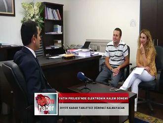 FATİH Projesi'nde Elektronik Kalem Dönemi (09.10.2012) izle