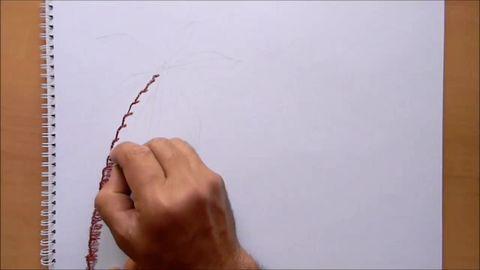Pastel Boya Deniz Manzarası çizimi Pastel Boya Manzara
