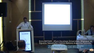 FATİH ETZ 2016 : Emre BAYSAN - Afyon Kocatepe Üniversitesi, Bilgisayar ve Öğretim Tekn... izle