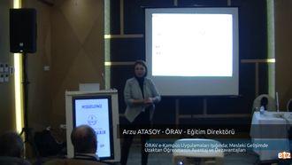 FATİH ETZ 2016 : Arzu ATASOY - ÖRAV - Eğitim Direktörü- ÖRAV e-Kampüs Uygulamaları... izle