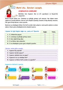 HOBİLER FOBİLER-1 (A1.2)