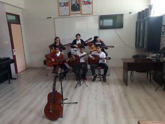 Nurel Enver Taner orta okulu gitar grubu izle