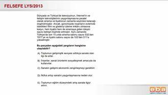 2013 LYS Sosyalleşme izle