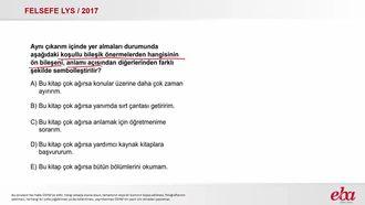 Koşullu Bileşik Önermeler (2017 LYS- FELSEFE) izle