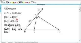 Açıortay ve Açıortay Teoremleri 15 izle