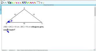 Dik Üçgende Trigonometrik Oranlar - 11.sınıf (2017) - 15.hafta - Soru - 5 izle