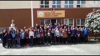 Çanakkale Zaferi'nin 103. Yılında Öğrencilerimizin Mesajı izle