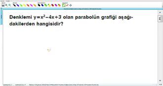 Parabolün Grafiğinin Çizimi Ve Doğru İle Parabolün Ve İki Parabolün Durumları 5 -... izle