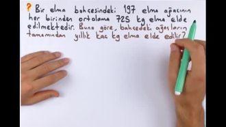 5. Sınıf Matematik Doğal Sayılarla Çarpma-Bölme Problemleri izle