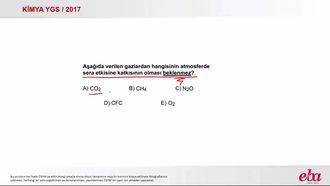 Sera Gazları (2017 YGS-Kimya) izle