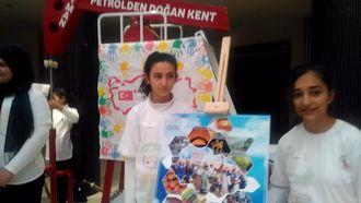 Batman Cumhuriyet Ortaokulu'ndan 81 İliz Hepimiz Biriz Proje Sergisi izle