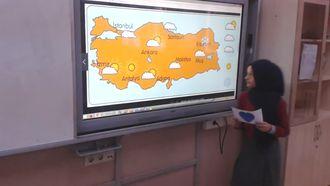 Arapça mevsimler, hava durumu izle