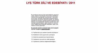 2011/LYS PARAGRAFIN YARDIMCI DÜŞÜNCELERİ izle