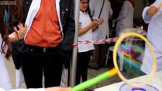 TÜBİTAK 4007 Ankara Bilim Hareketi Etkinlik_11 Sabun köpüğü izle
