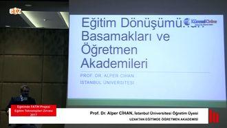 FATİH ETZ 2017: Prof. Dr. Alper CİHAN - UZAKTAN EĞİTİMDE ÖĞRETMEN AKADEMİSİ izle