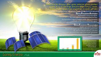 Yenilenebilir enerji kaynaklarından güneş enerjisi incelenmiştir.