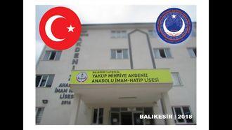 Yakup Mihriye Akdeniz Anadolu İmam Hatip Lisesi öğrencilerinden Afrin de görev yapan y... izle