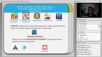 eTwinning Projelerinde Mobil Uygulamalar ve Kullanım Alanları izle