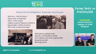 Atatürk İlkelerinin Amaçları ve Ortak Özellikleri izle