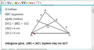 Kenarortay Kavramı Ve Kenarortay Teoremi 1 - Deneme izle