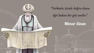 Mimar Sinan ve Mimarlar Günü izle