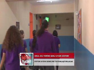 Okul Zili Yerine Işıklı Uyarı Sistemi (28.11.2012) izle