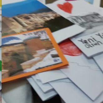Our Future is in Our HANDS Projesi yılbaşı kartları izle