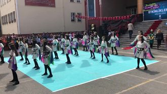 Okulumda Bir Ses İki Hareket projesi kapsamında gerçekleştirdiğimiz dans gösterisi izle