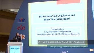 FATİH ETZ 2016 :  Cennet KURBAN - Bilişim Teknolojileri Öğretmeni- FATİH Projesi'ni... izle