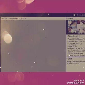 İstanbul, Bakırköy Çok Prog Ana Lis Uygulama Anaokulu e Twinning Proje Webinarı izle