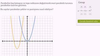 Parabolün Mantığını Anlayalım Örneği 1 izle