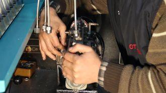 Sıra Tipi Yakıt Enj. Pompasının Ayar Tezgahında Kontrolü izle