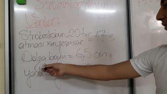 Stroboskop deneyi -2 (hesaplama) izle