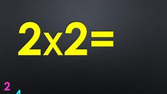 Ritmik Sayılar ile Çarpım Tablosu - 2'ler (2 ile Çarpma İşlemi) izle