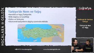 Türkiye'de Nem ve Yağış izle