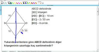Deltoid ve Çokgenler 10.Sınıf  Kurs 5.Soru izle