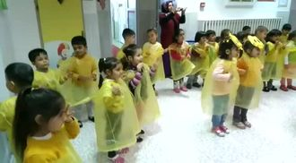 Sarı renk partisi izle