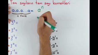 8. Sınıf Matematik Üslü İfadeler (Giriş) izle