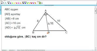 Açıortay ve Açıortay Teoremleri 8 izle