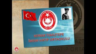 İzmir Konak Tınaztepe İmam Hatip Ortaokulu Tanıtımı izle