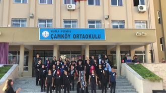 'SENDEN DAHA GÜZEL'  Muğla/Fethiye Çamköy Ortaokulu 10Kasım Atatürk'ü anma et... izle