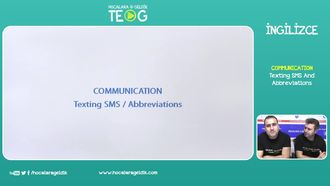 Texting SMS And Abbreviations izle