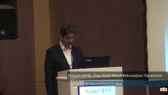 FATİH ETZ 2016:  Hüseyin BIYIK -  İhlas Koleji Bilişim Teknolojileri Öğretmeni -3D T... izle