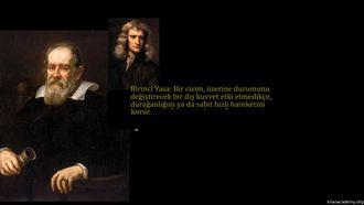 Newton'un Birinci Hareket Yasası İle İlgili Daha Fazla Bilgi izle
