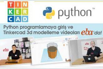 Tinkercad ve Python Eğitim Serisi izle