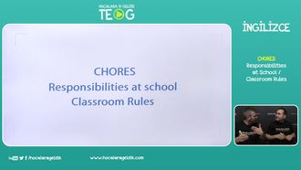 Responsibilities at School / Classroom Rules izle