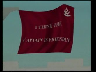 I think the captain is friendly izle