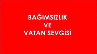 Samsun-Çarşamba Anafartalar Ortaokulu Değerler Eğitimi Bağımsızlık ve Vatan Sevgi ... izle
